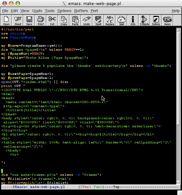 perl write Perl shell python you posted this question in all those topic areas, so i can't tell what you want if the other script is a perl script, maybe you should use wilcoxon's solution, which looks pretty.
